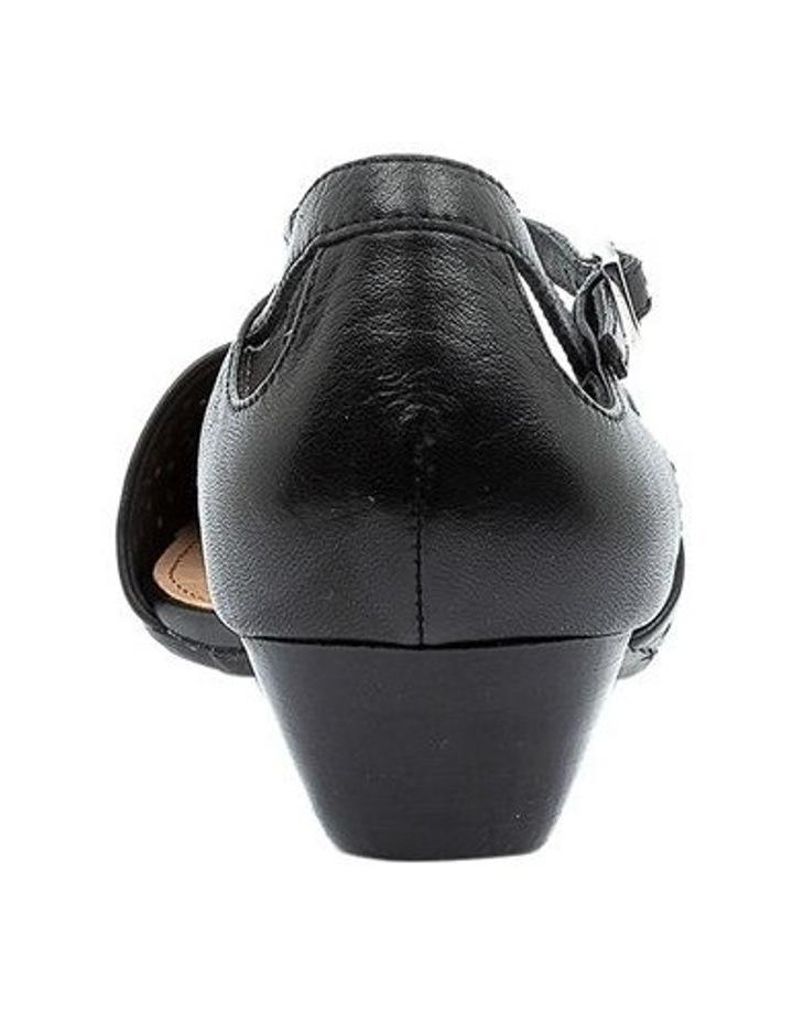 Perrey Black Heeled Shoe image 4