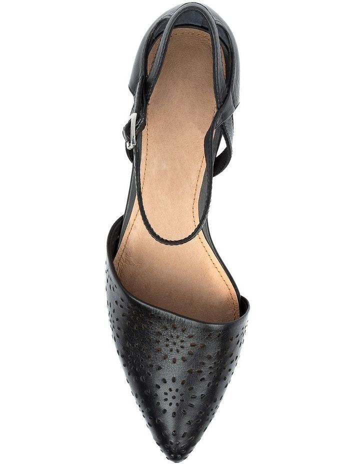 Perrey Black Heeled Shoe image 5