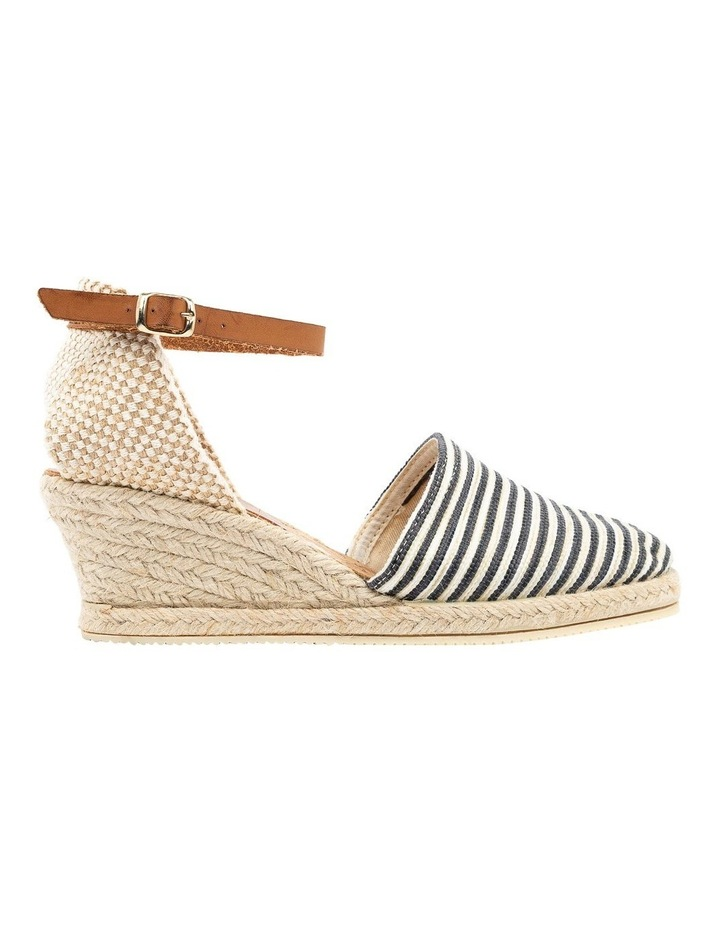 Trey Black Stripe Heeled Shoe image 1