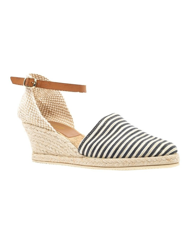 Trey Black Stripe Heeled Shoe image 2