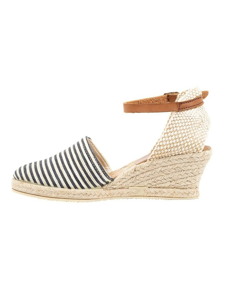 Trey Black Stripe Heeled Shoe image 3