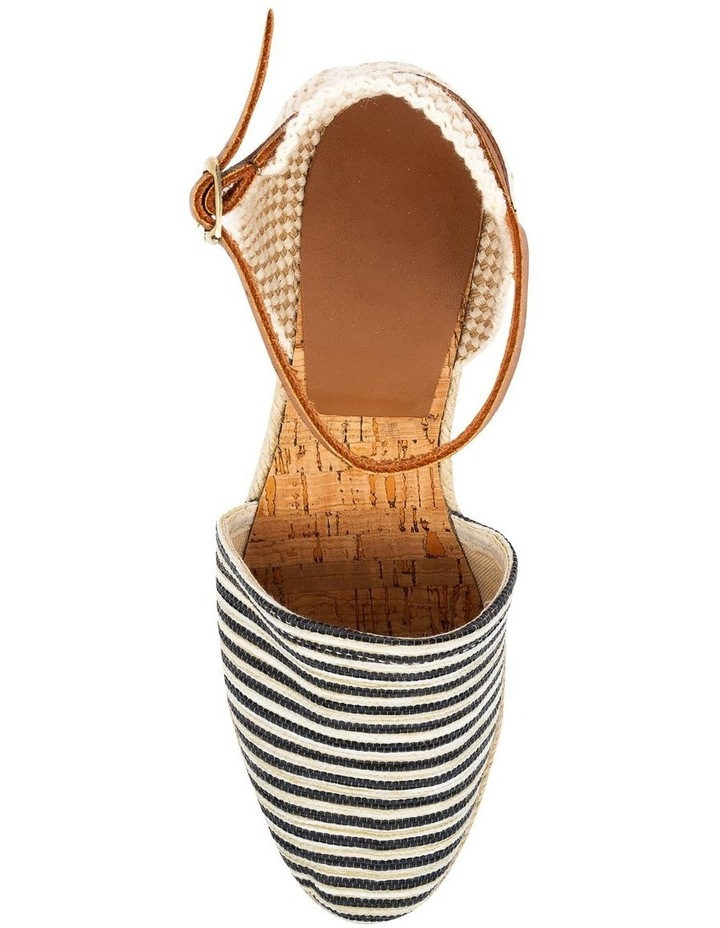 Trey Black Stripe Heeled Shoe image 5