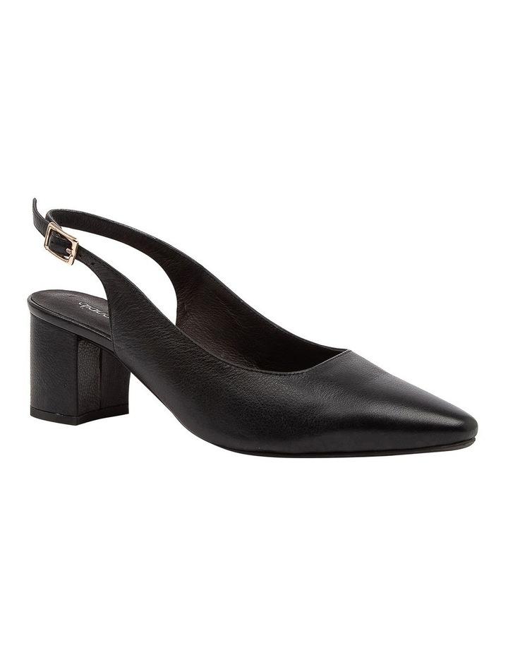 Lucine Black Heeled Shoes image 2