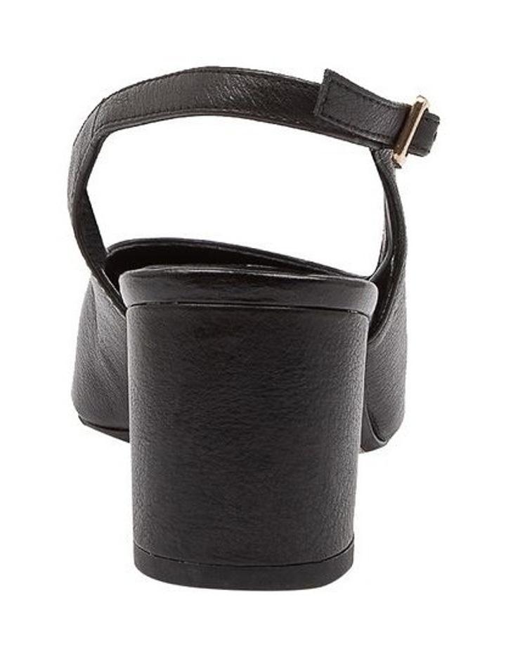 Lucine Black Heeled Shoes image 4