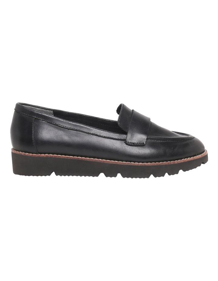 Brampton Black Leather Loafer image 1