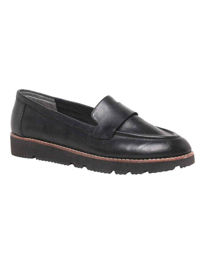 Brampton Black Leather Loafer image 2