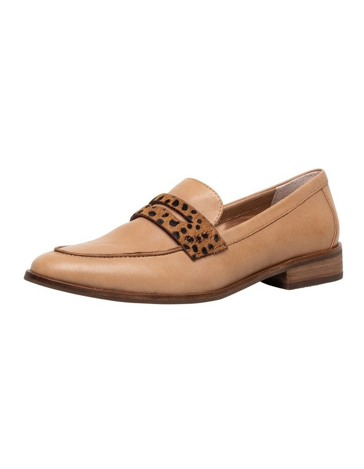 Tary Tan/Leopard Flat Shoes image 1