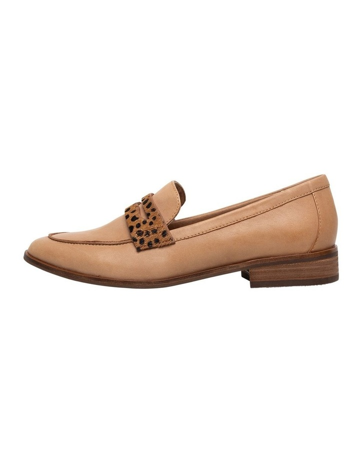 Tary Tan/Leopard Flat Shoes image 2