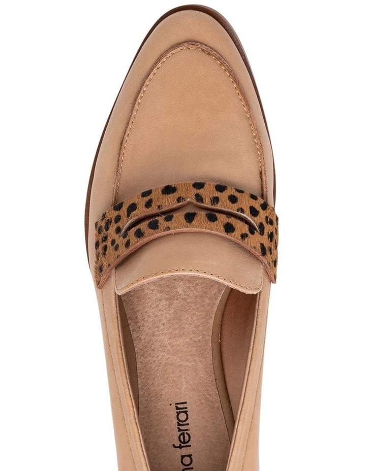 Tary Tan/Leopard Flat Shoes image 4