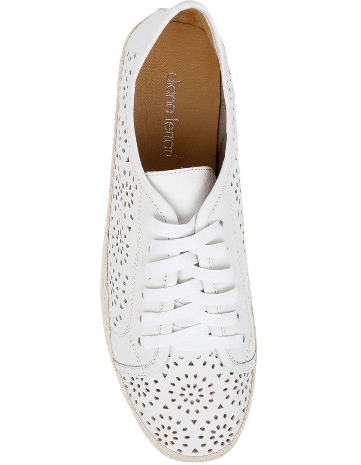 Auburn White Sneaker image 5