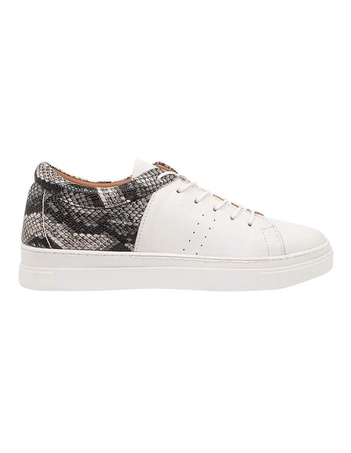 Azela White Natural Snake Sneaker image 1