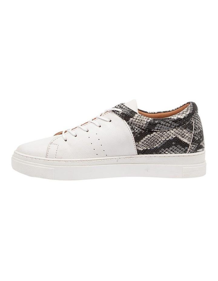 Azela White Natural Snake Sneaker image 3