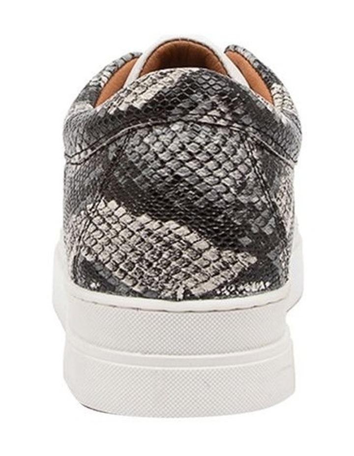 Azela White Natural Snake Sneaker image 4