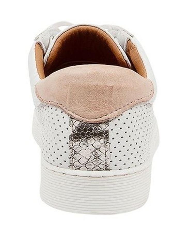 Mollzie White Nude Sneaker image 4