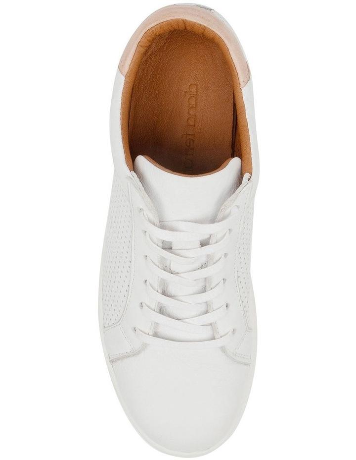 Mollzie White Nude Sneaker image 5