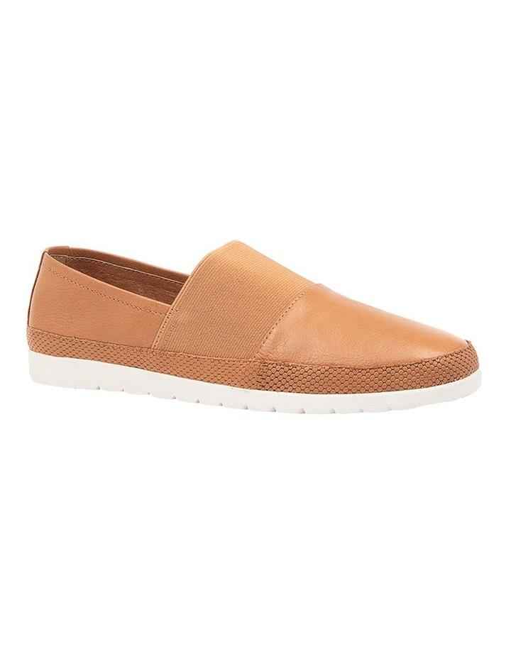 Acherub Dark Tan/White Flat Shoes image 2