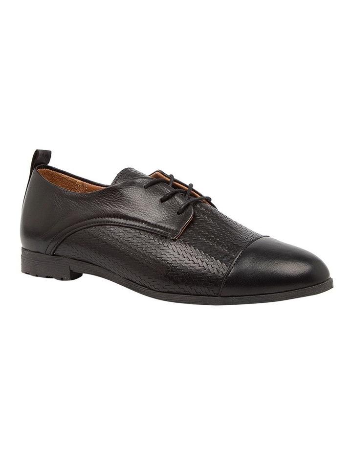 Barnay Black Flat Shoes image 2