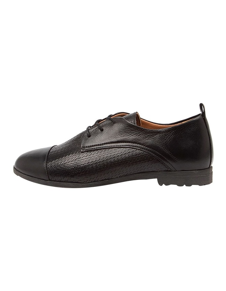 Barnay Black Flat Shoes image 3