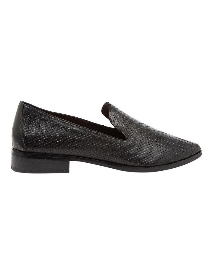 Nansie Black/Black Leather Flat Shoes image 1