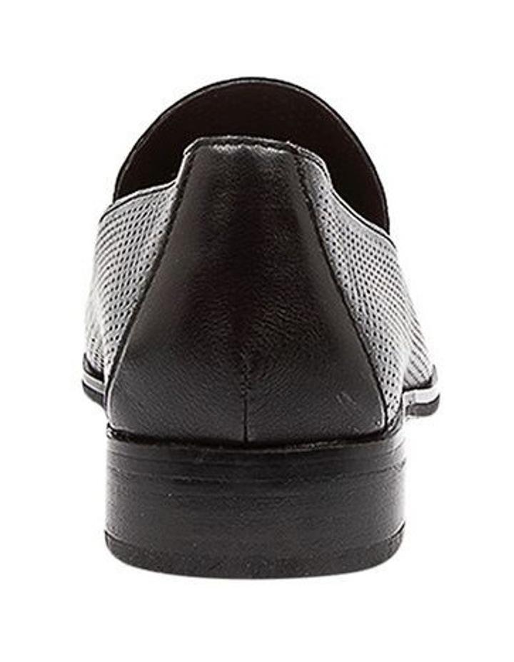 Nansie Black/Black Leather Flat Shoes image 4