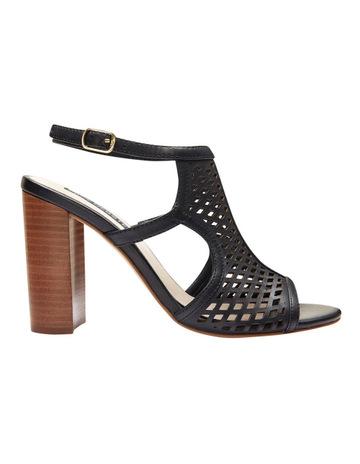 8327f114870fd Jane Debster Varsity Black Glove Sandal