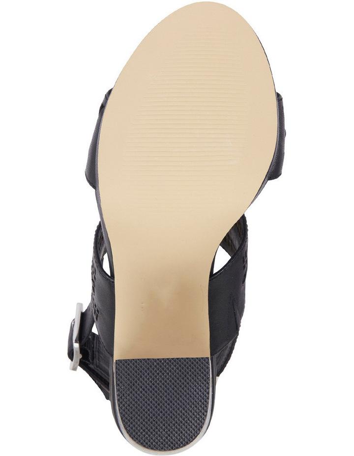 Scorpio Black Glove Sandal image 8