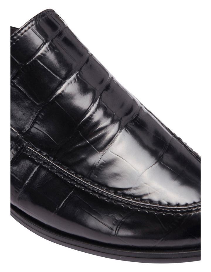 West Black Croc Loafer Slide image 8