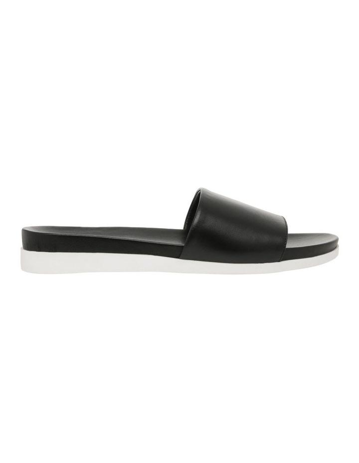 Mila Black Leather Sandal image 1