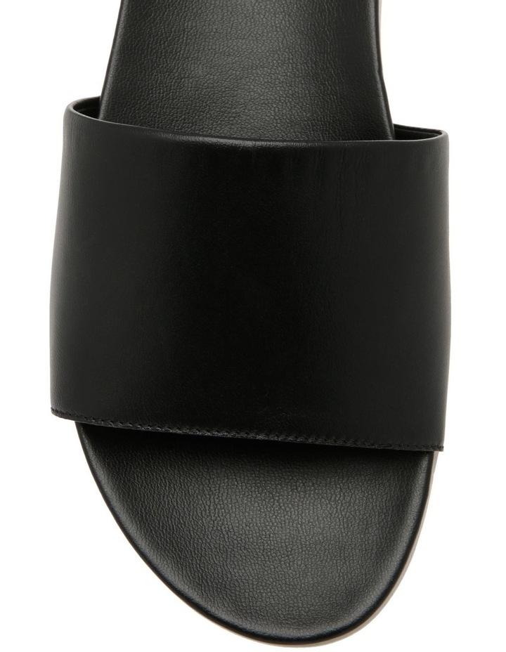 Mila Black Leather Sandal image 2