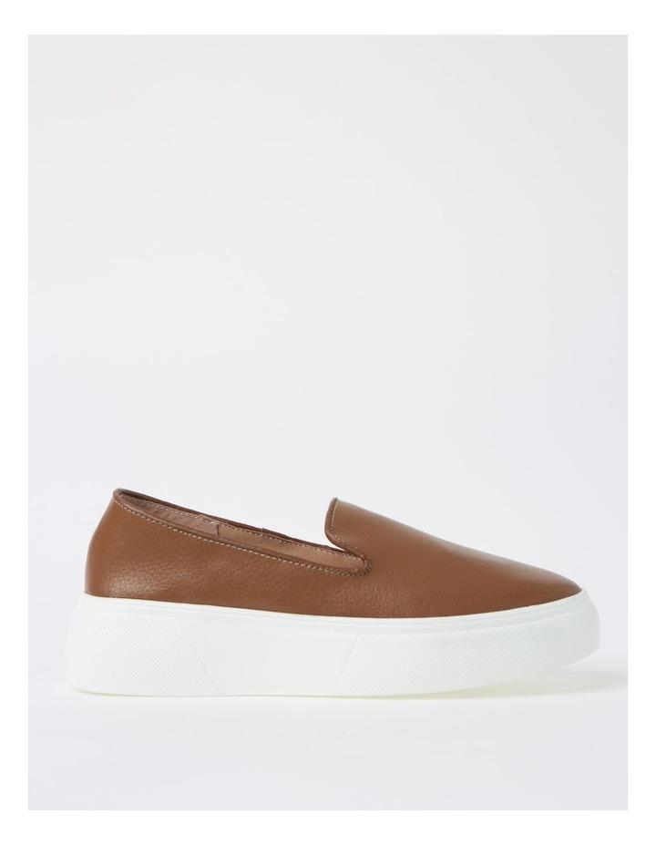 May Tan Flat Shoe image 1