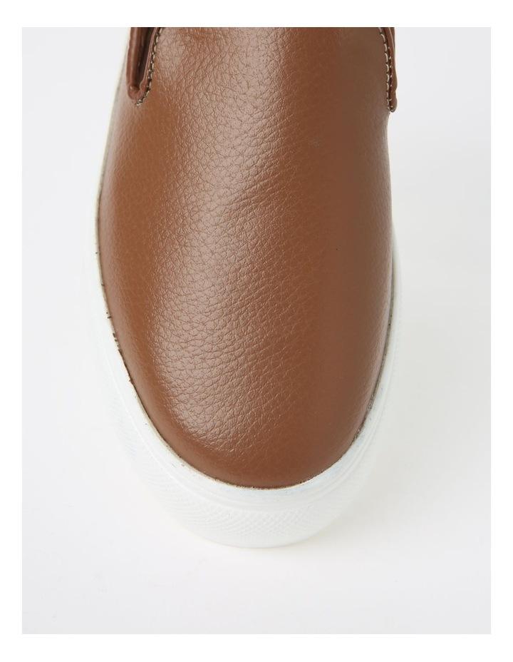 May Tan Flat Shoe image 2