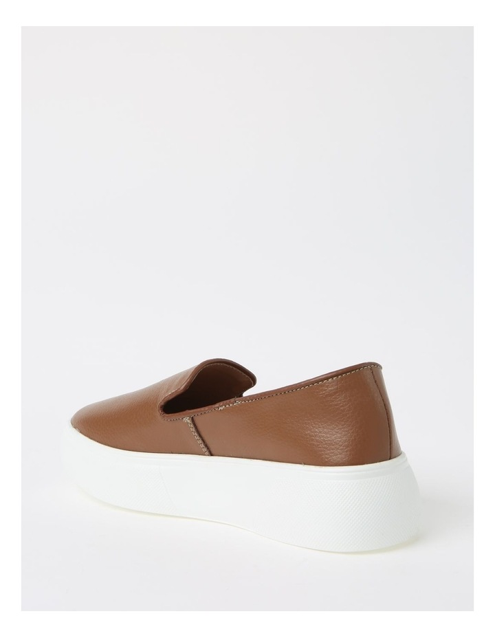 May Tan Flat Shoe image 3