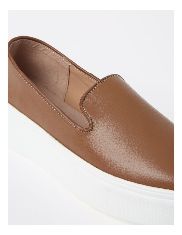 May Tan Flat Shoe image 4