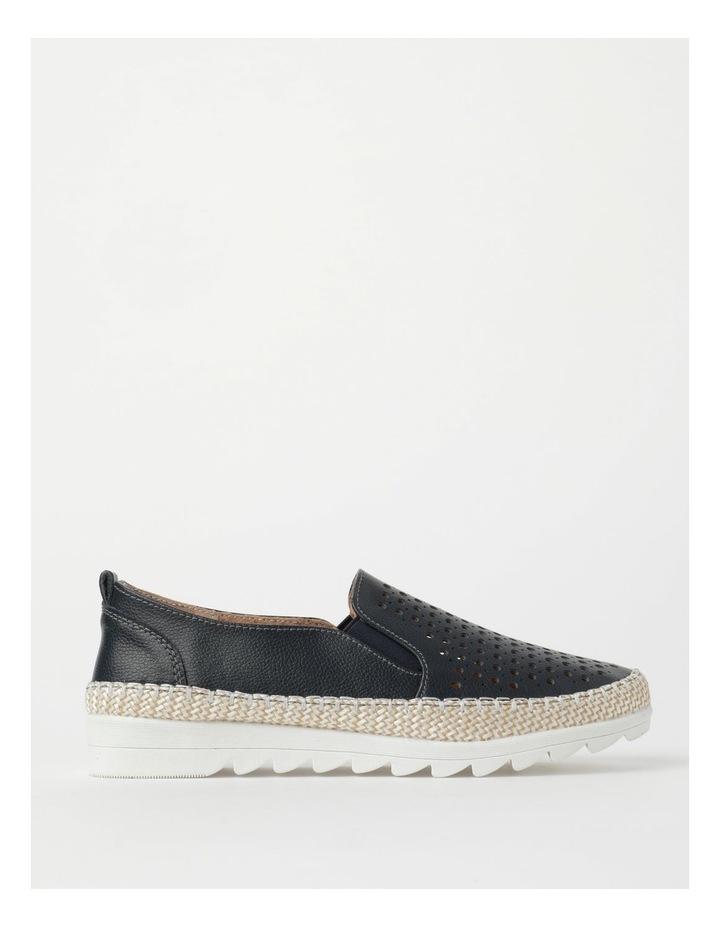 Capricorn Navy Flat Shoe image 1