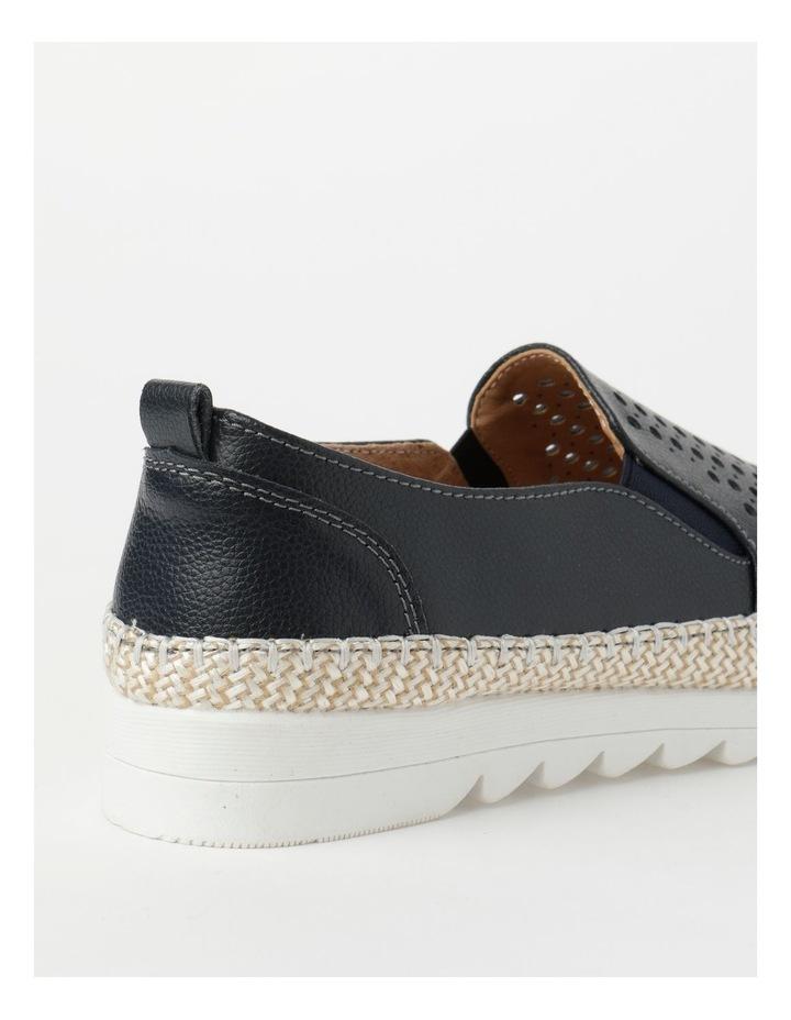 Capricorn Navy Flat Shoe image 3