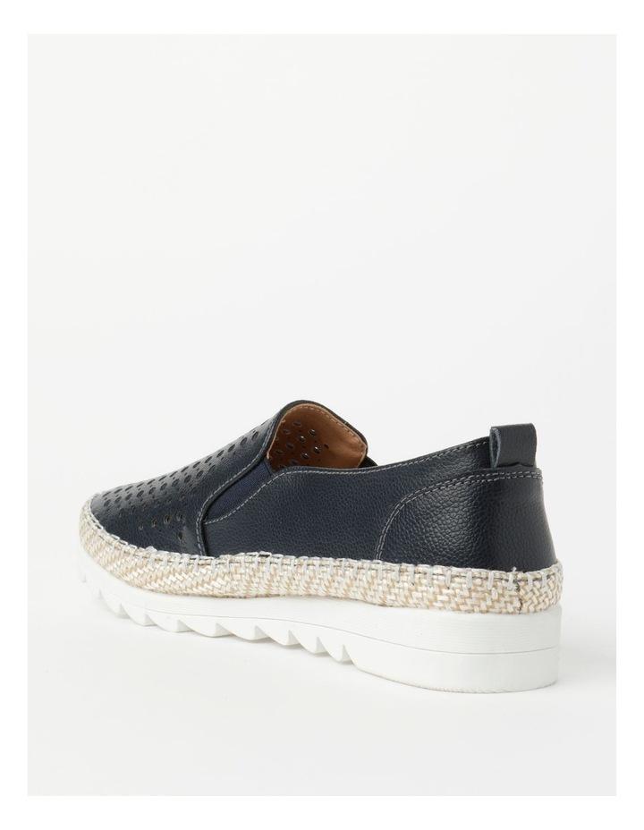 Capricorn Navy Flat Shoe image 4