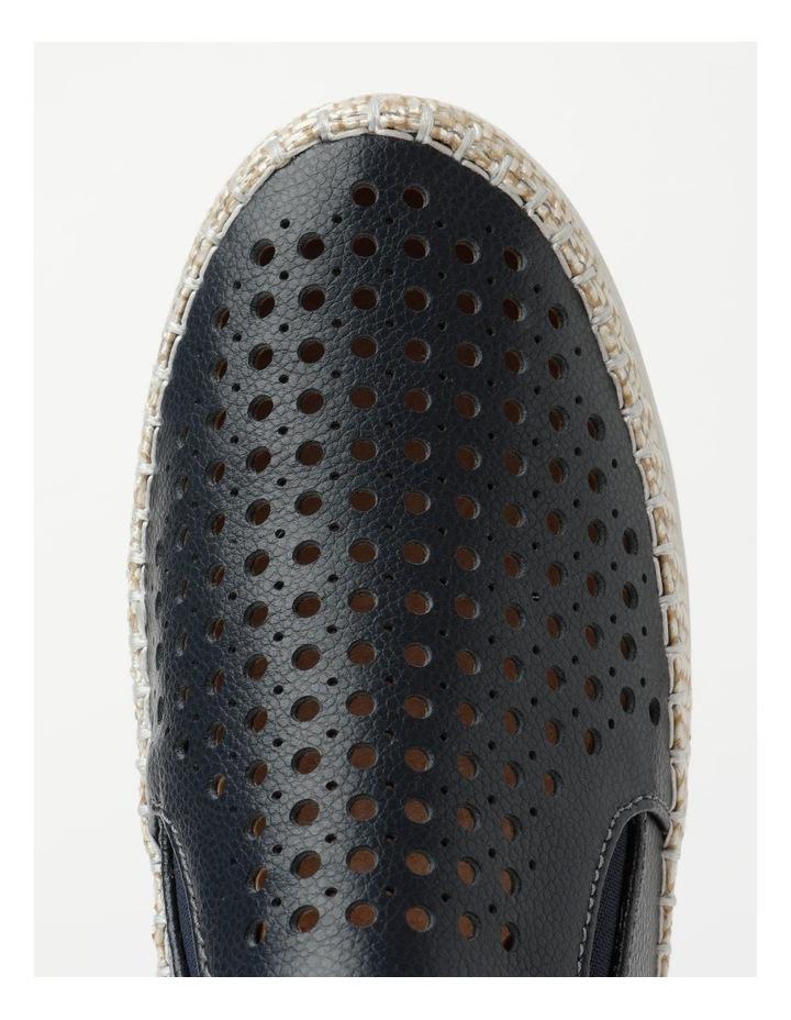 Capricorn Navy Flat Shoe image 5