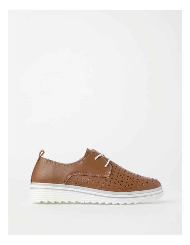 Charm Tan Flat Shoe image 1