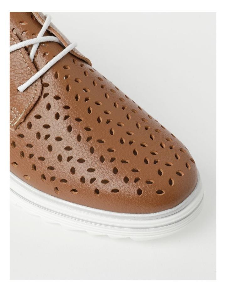 Charm Tan Flat Shoe image 2
