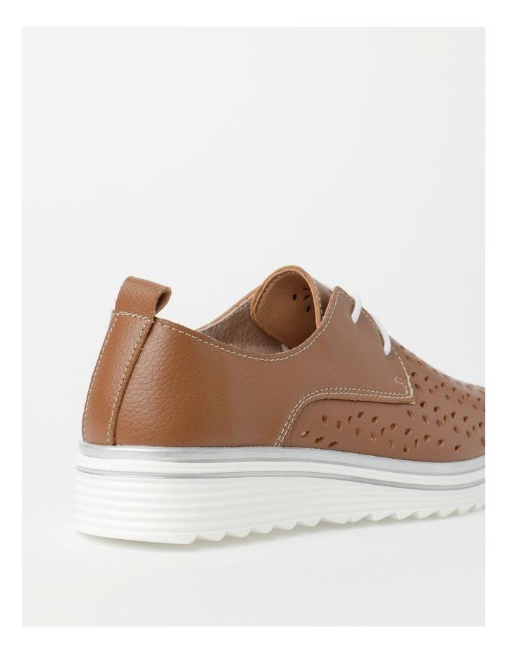 Charm Tan Flat Shoe image 3