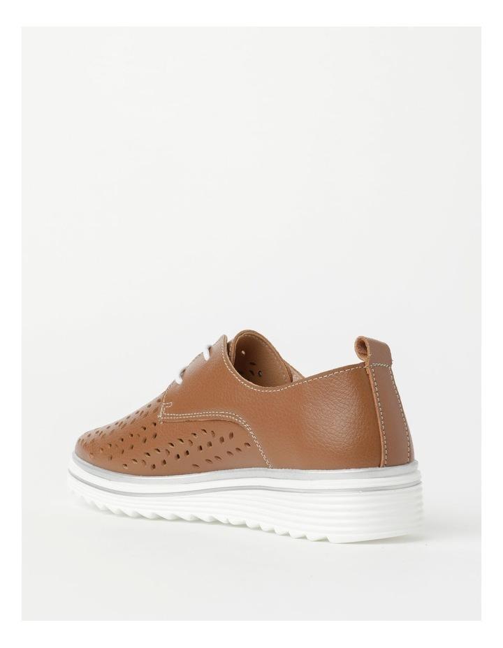 Charm Tan Flat Shoe image 4