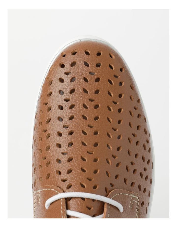 Charm Tan Flat Shoe image 5
