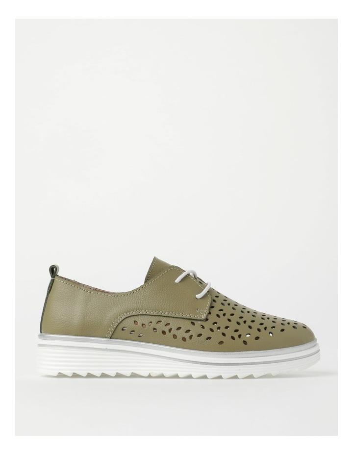 Charm Khaki Flat Shoe image 1