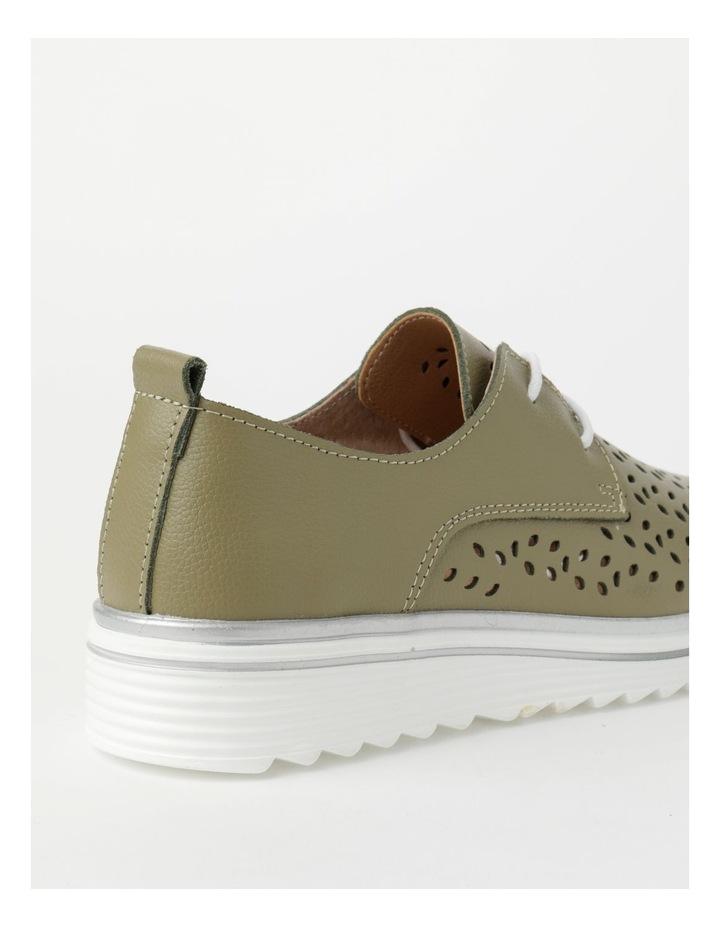 Charm Khaki Flat Shoe image 3