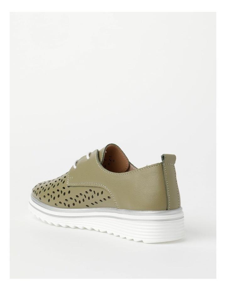 Charm Khaki Flat Shoe image 4