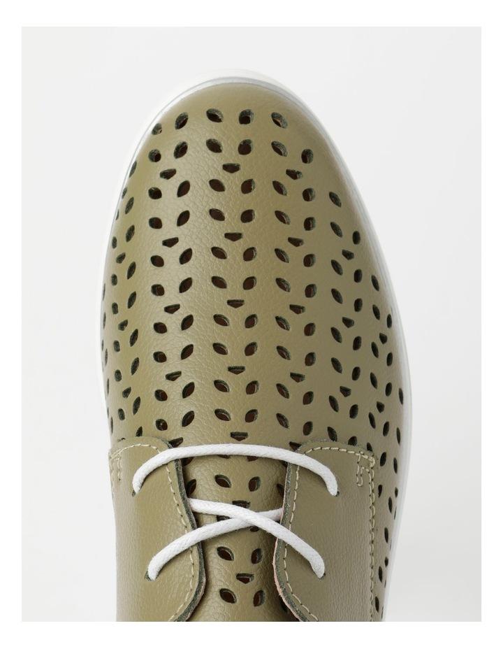 Charm Khaki Flat Shoe image 5