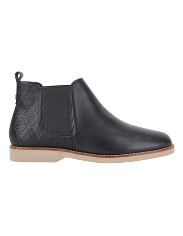 a4a82544de443d Hush Puppies Darya Black Boot