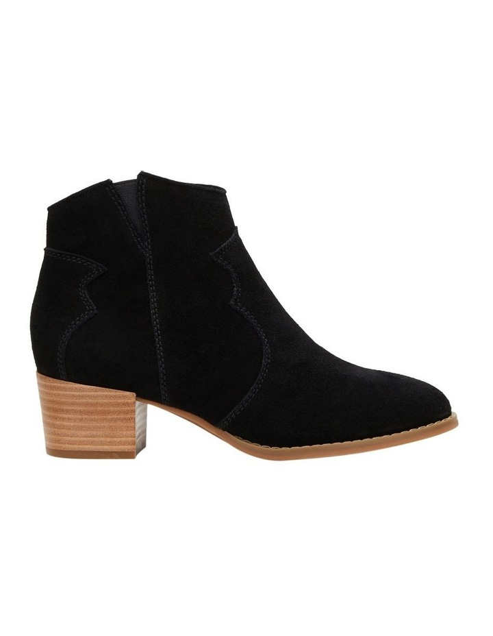 Chai Black Suede Boot image 1