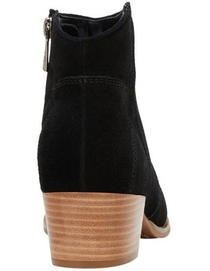 Chai Black Suede Boot image 2