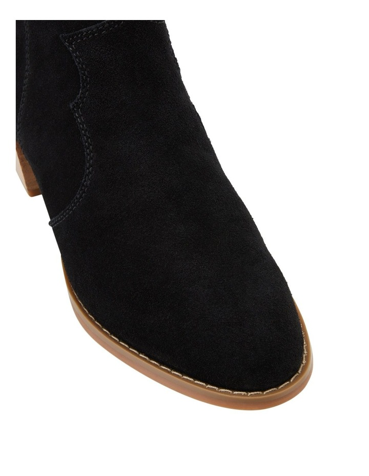 Chai Black Suede Boot image 4